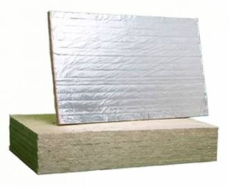 Минвата ROCKWOOL FIRE BATTS 110 с фольгой, 30 мм